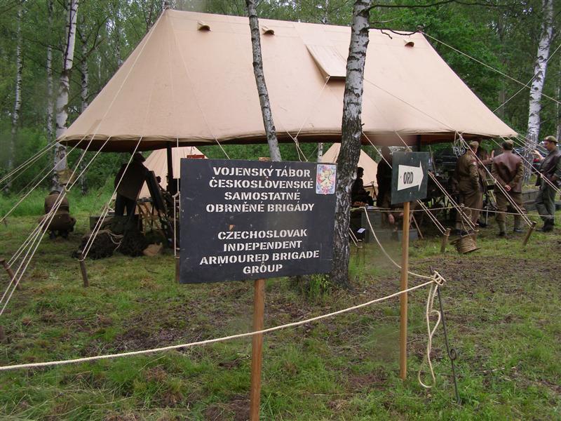 Bahna 2010 - tábor Československé obrněné brigády
