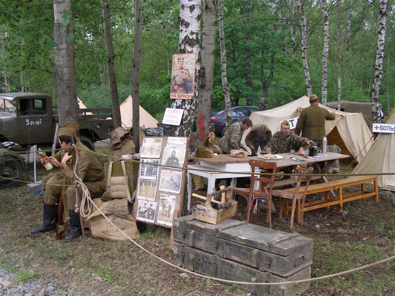 Bahna 2010 - tábor Rudé armády